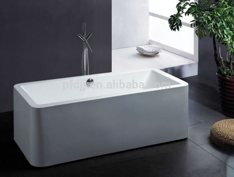Body Soaking Indoor Spa Tub 150*75*65cm 1 Person Hot Tub For Adult